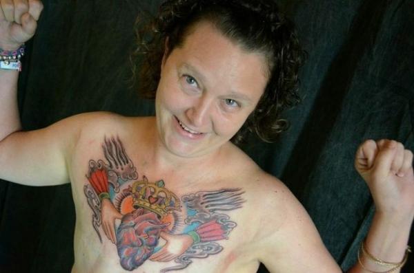 - татуировка после