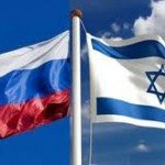 Russhian-Israel Flags